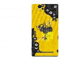 Capa Adesivo Skin354 Verso Sony Xperia T2 D5322