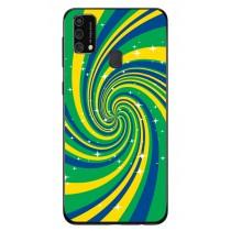 Capa Adesivo Skin360 Verso Para Samsung Galaxy M21s (2020)