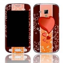 Capa Adesivo Skin372 Para Samsung Galaxy S Gt-s7562l + Kit Tela