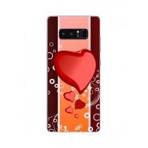 Capa Adesivo Skin372 Verso Para Samsung Galaxy Note 8