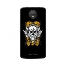 Capa Adesivo Skin374 Verso Para Motorola Moto C