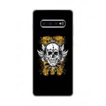 Capa Adesivo Skin374 Verso Para Samsung Galaxy S10 Plus