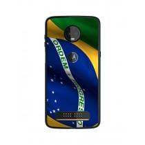Capa Adesivo Skin628 Verso Para Motorola Moto Z3 Play